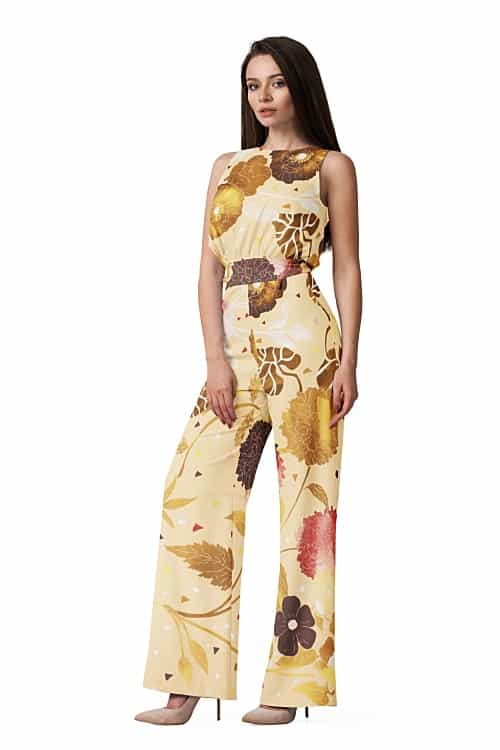 Jump Suit texture and fabric draping using TRI3D software