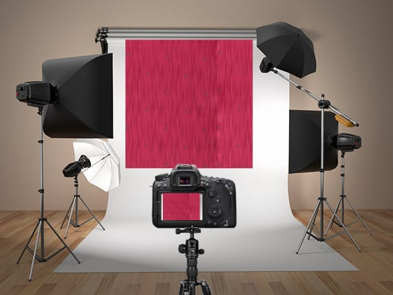 How to take a photo of an unstitched dress material in a studio for draping in TRI3D