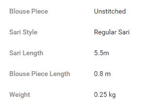 Product Specification on Flipkart